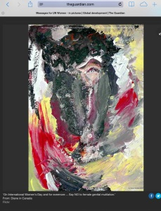 Diane Walsh painting End FGM _The Guardian - 2011