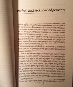 Preface to Hilary Burrage 2015 book